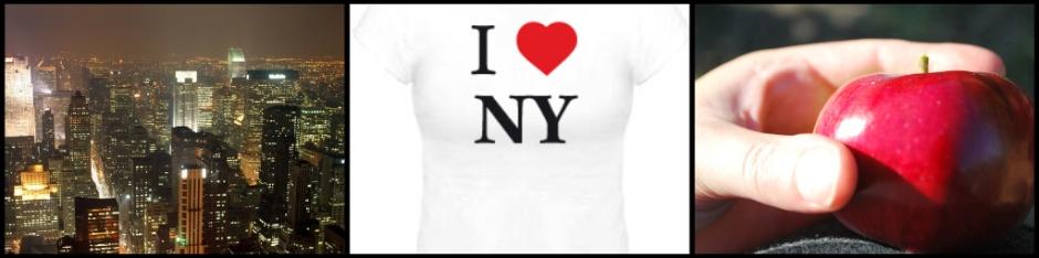 New York la Grosse Pomme ou de Big Apple