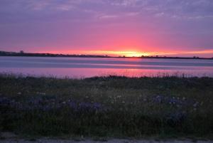 Coucher de soleil Îles de la madeleine