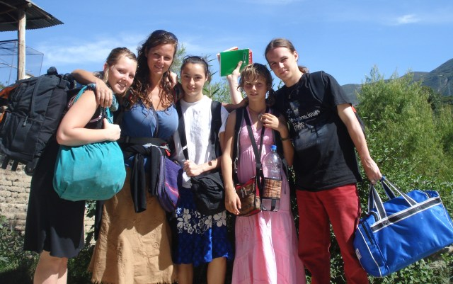Marie, alias Mémé, et 4 de ses 5 enfants