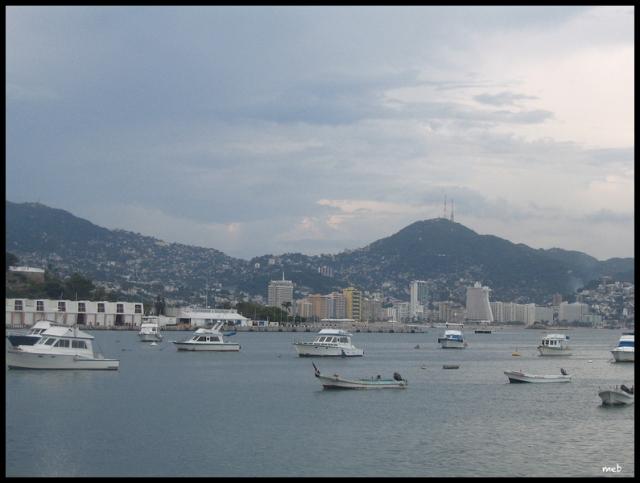 La baie d'Acapulco