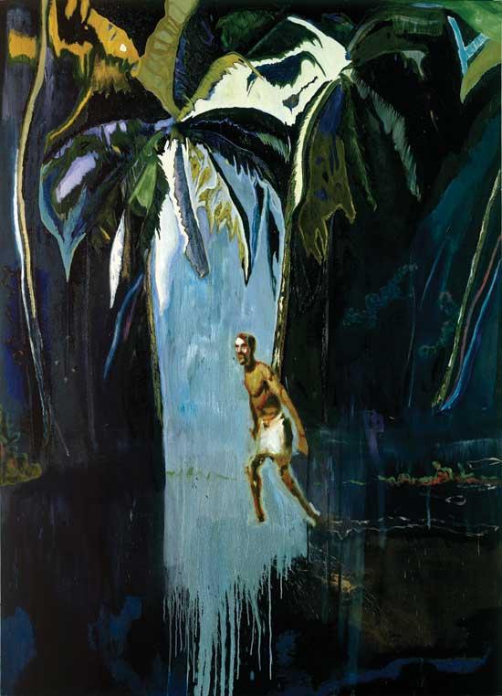 Pelican, 2003, Michael Werner Gallery, © Peter Doig.