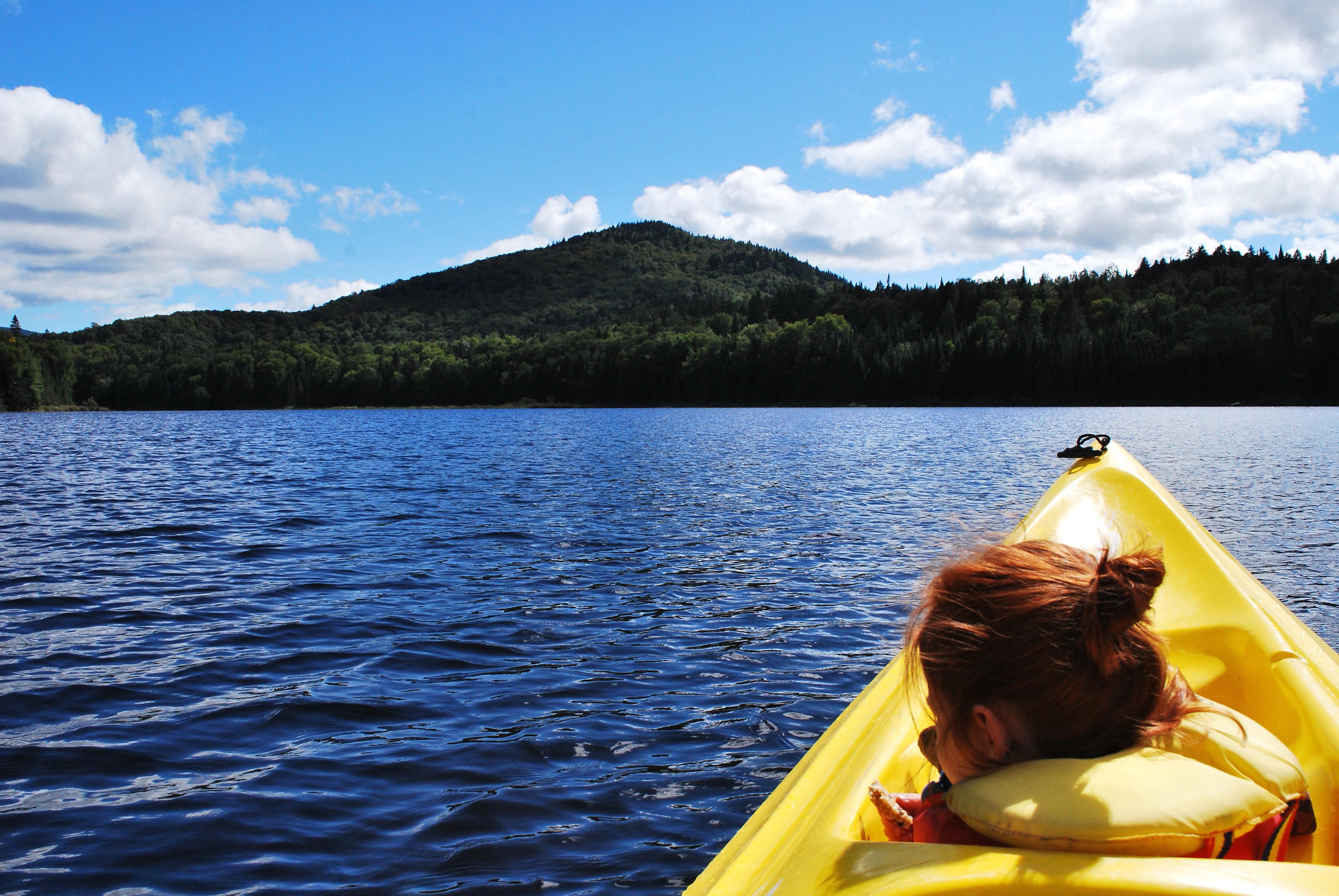 Escapade de filles dans les laurentides marie eve blanchard for Lac miroir mont tremblant
