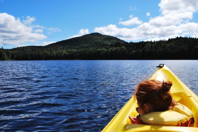 Randonnée en kayak 2013, Lac Monroe, Parc National du Mont-Tremblant.