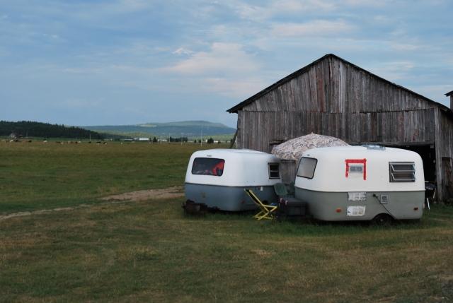 Petites roulottes Boler qui devraient être en location l'été prochain